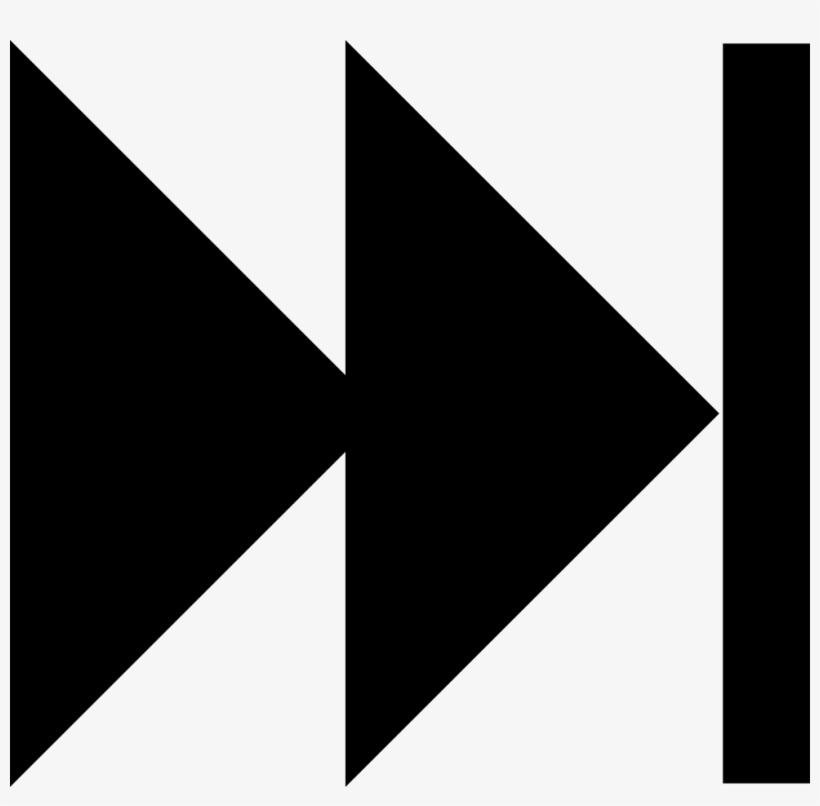 Fast Forward Arrows Symbol - Fast Forward Symbol, transparent png #1164798