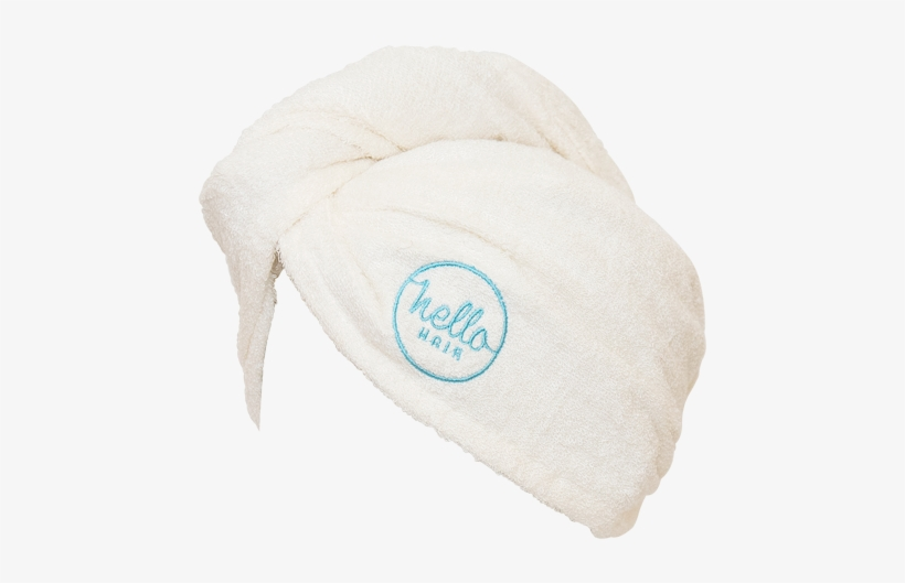 Hello Hair Towel Wrap - Hello Hair Natural Hydrating Conditioner 200ml, transparent png #1165106