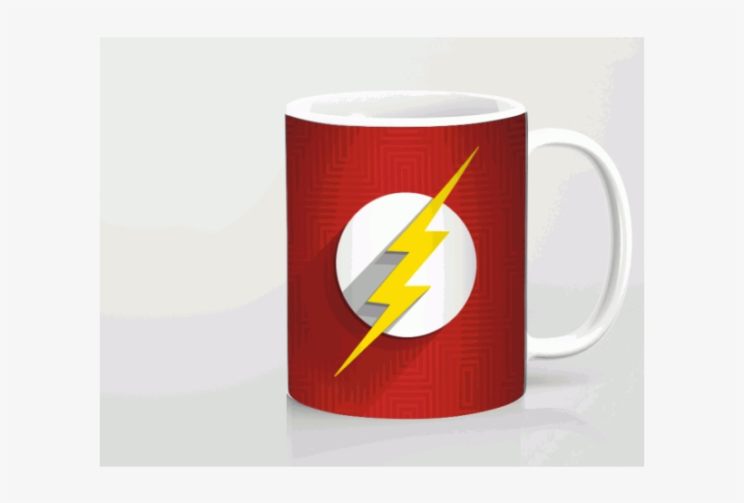 Flash Logo Printed Mug - Coffee Cup, transparent png #1165268