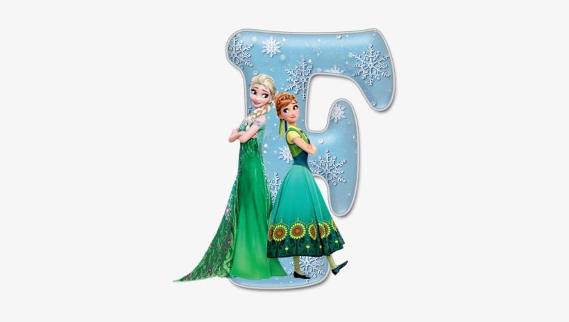Alfabeto De Frozen Fever Con Minúsculas - Anna And Elsa Summer, transparent png #1165900