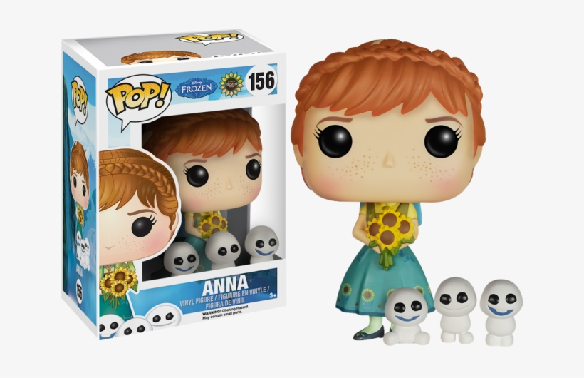 Anna Pop Vinyl Figure - Funko Pop Frozen Fever Anna, transparent png #1166136