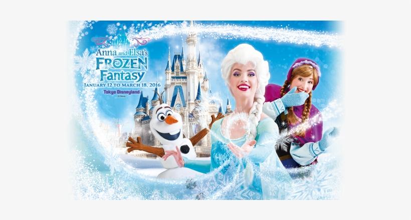 Frozen Tokyo - Anna Elsa Frozen Fantasy, transparent png #1166272