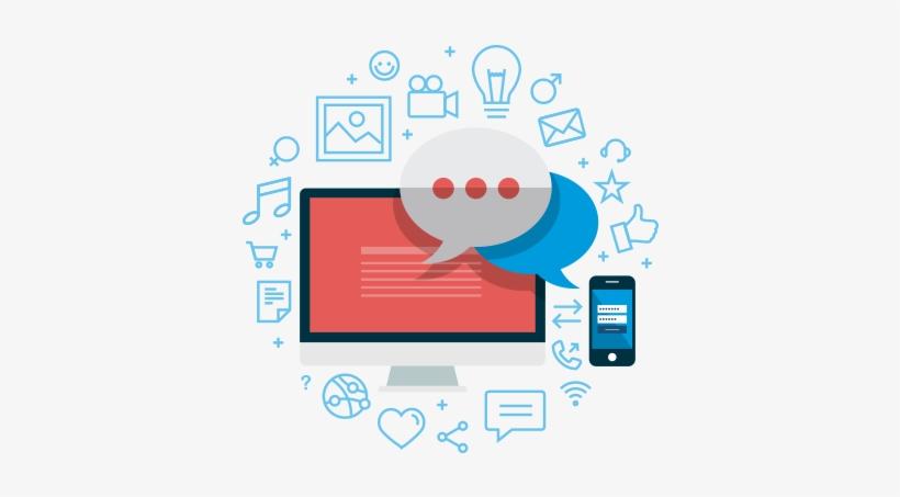 Posicionamiento Redes Sociales - Social Media Gif Png, transparent png #1167031