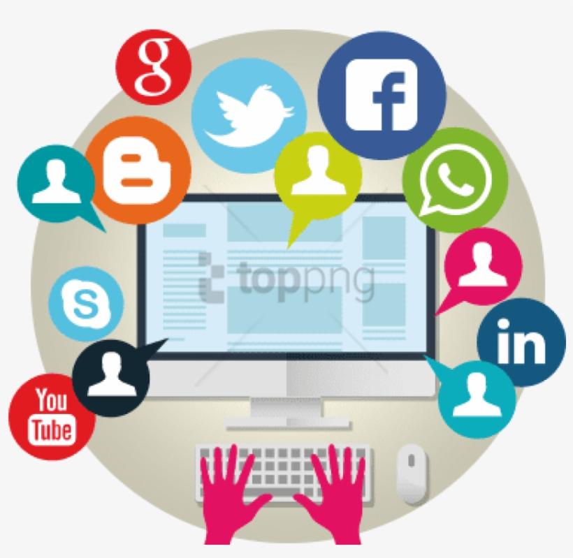 Promoción De La Empresa En Redes Sociales - Como Y Cuando Surgieron Las Redes Sociales, transparent png #1167036