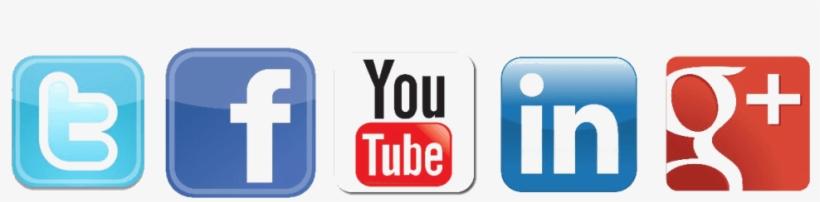 Redes Sociales Transparentes - Like Us Follow Us, transparent png #1167113