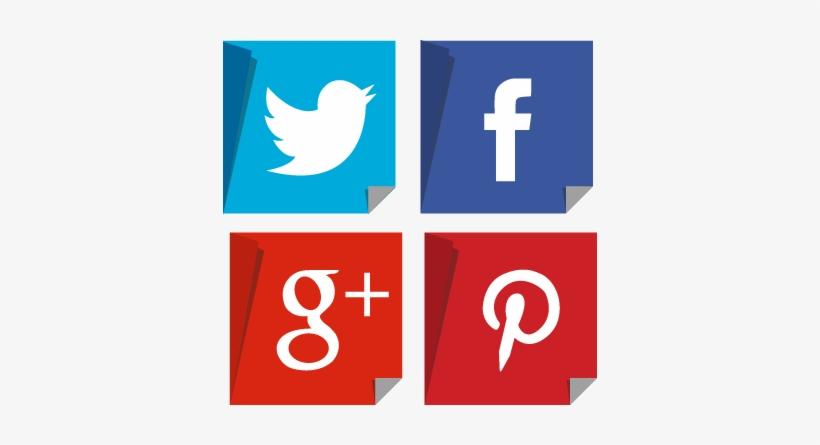 Social Media Sticker - Fb Twitter Linkedin Youtube, transparent png #1168011
