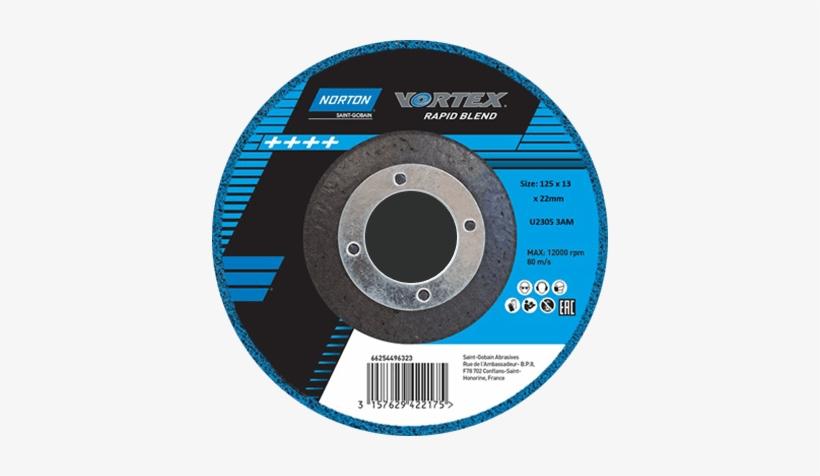 Vortex Blending Disc - Norton Vortex Rapid Blend, transparent png #1168445