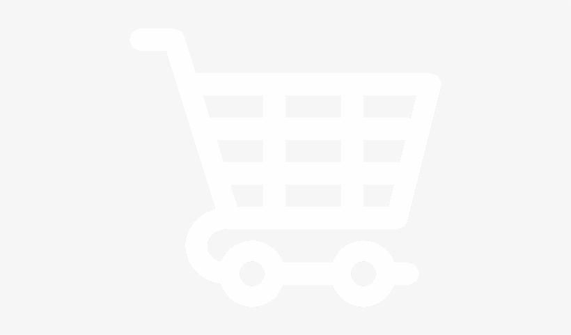 Shopping Cart Png - White Shopping Cart Png, transparent png #1169790