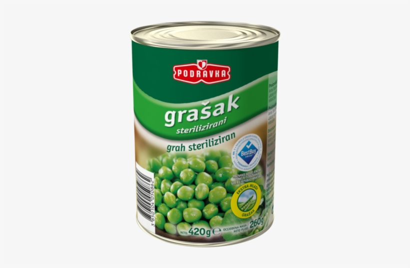 Peas - Podravka Chicken Soup With Noodles - 2.2 Oz, transparent png #1169814