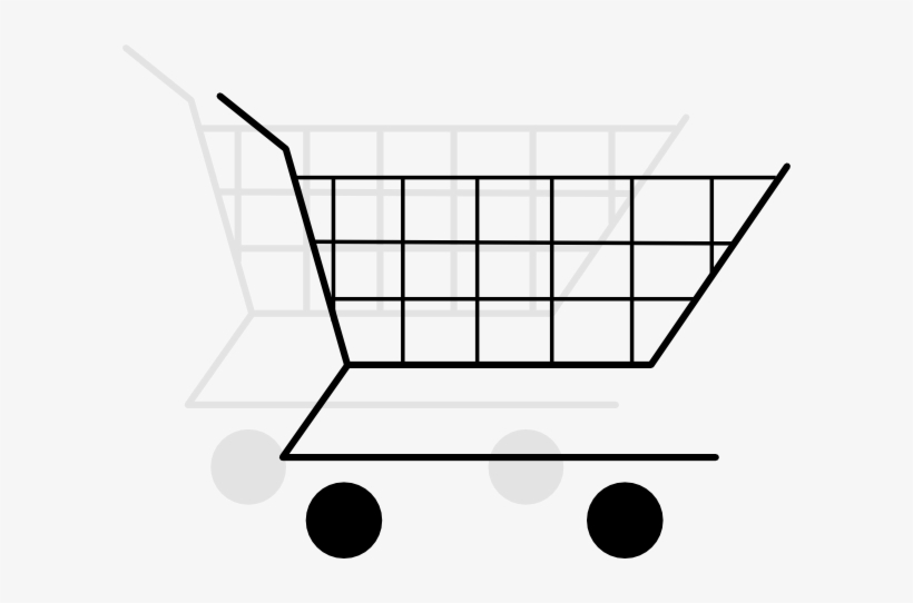 Cart Clipart Shopping Basket - Shopping Cart, transparent png #1170074
