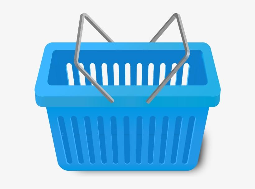 Shopping Cart Light Blue Vector Icon - Shopping Cart Light Blue, transparent png #1170494