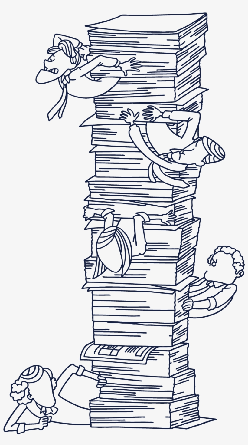 Clip Art Freeuse Library Book A Pile Of Books Transprent - Books Stack Pile, transparent png #1171421