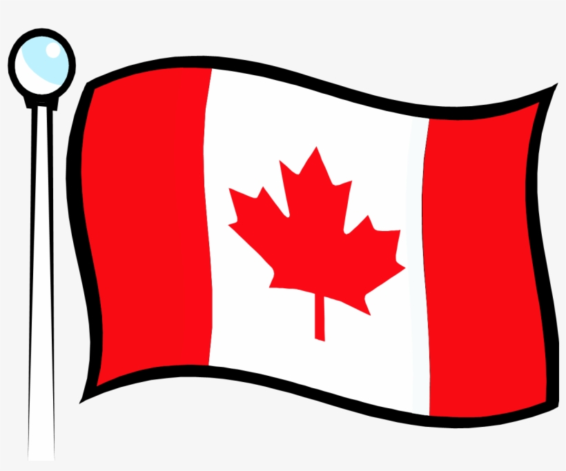 Clip Arts Related To - Canadian Flag Clip Art, transparent png #1173045