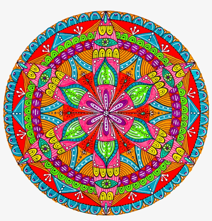 Learn More About How To Draw Mandalas - Mandala, transparent png #1174685