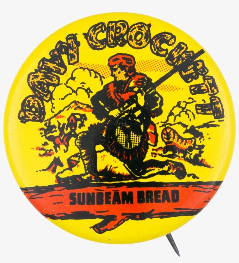 "Davy Crockett Sunbeam Bread - Davy Crockett Sunbeam Bread 1-3/8"" Pinback Button, transparent png #1175451"