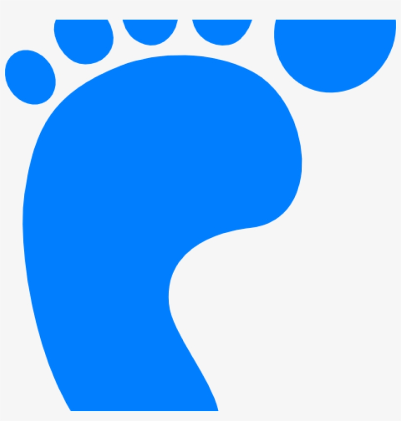 Blue Baby Feet Clip Art Free All About Clipart Red Footstep Free Transparent Png Download Pngkey