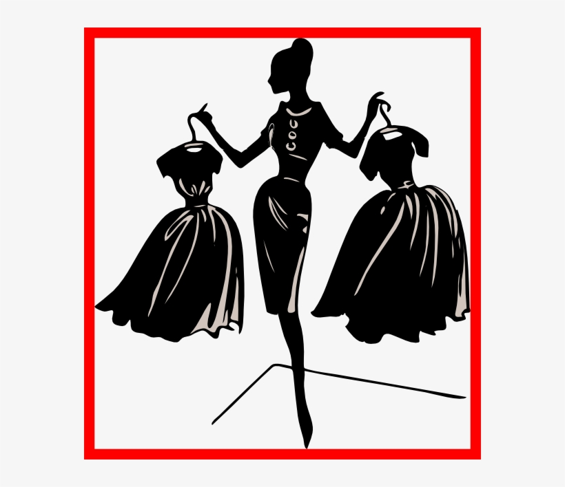 Shocking Church Fashion Show Clip Art Clipart Collection - Fashion Clip Art, transparent png #1177041