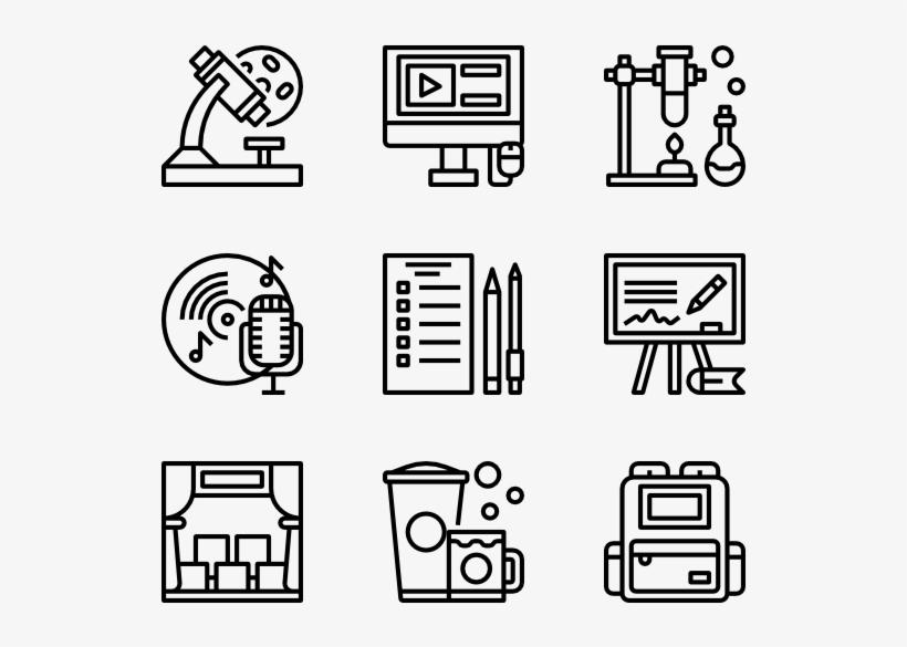 School - Design Icons, transparent png #1178053