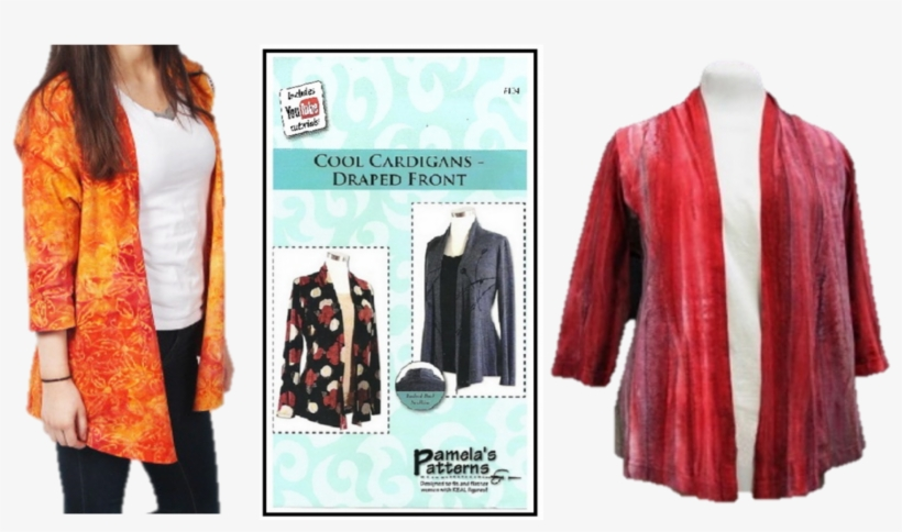 Cool Cardigan Free Sewing Pattern Easy Quilting Cotton Jacket
