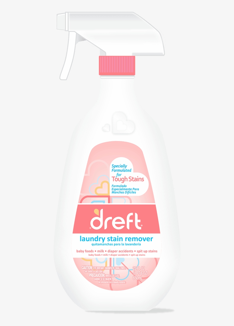 Dreft Laundry Stain Remover - Dreft Laundry Stain Remover - 650ml By Dreft, transparent png #1178522