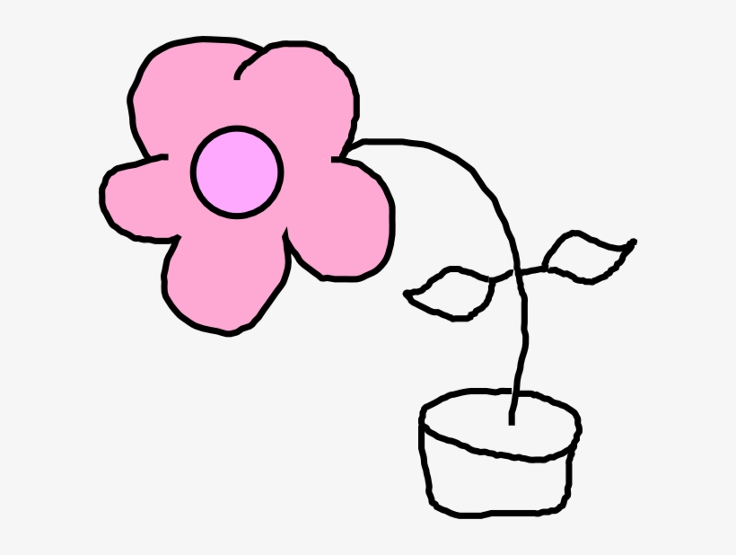 Kids Flower Clip Art - Kids Drawing Png, transparent png #1180633