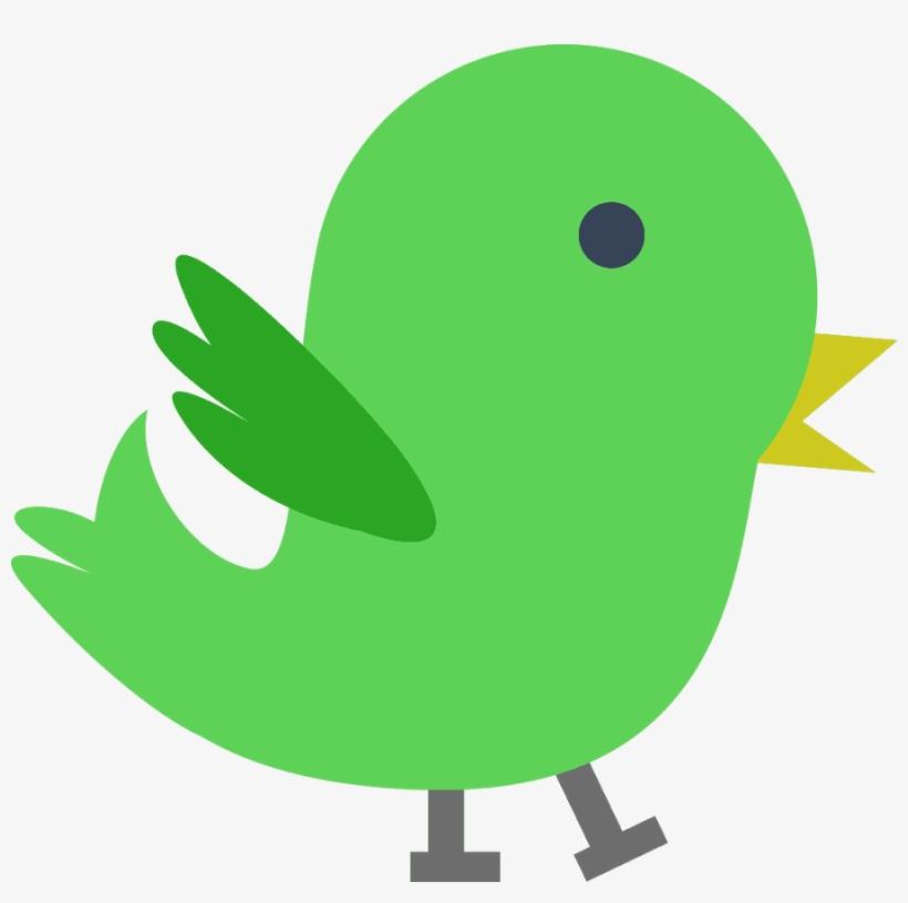 Birds green. Bird clipart baby art