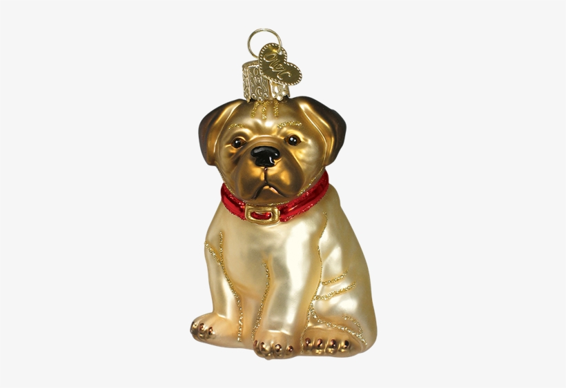 No Image Available For - Old World Christmas Pugsley Glass Ornament, transparent png #1181164