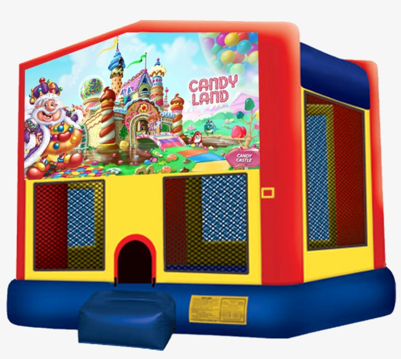 Candy Land Bounce House Rentals In Austin Texas From - Pj Mask Bounce House, transparent png #1182230