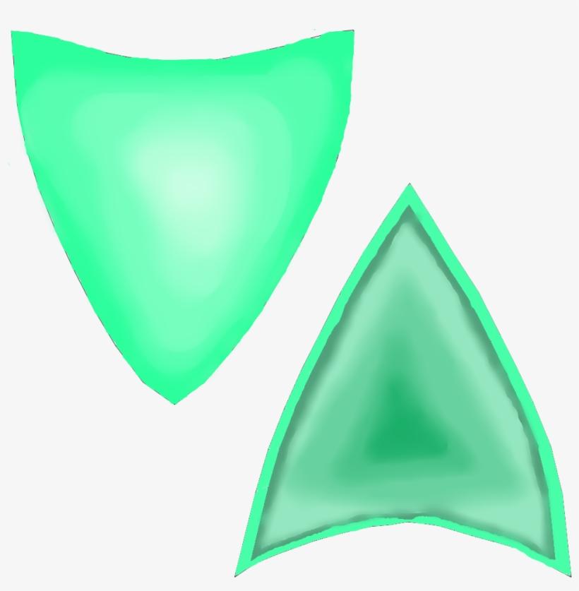 Http - //i - Imgur - Com/ozqq9bu - Green Cat Ears Transparent, transparent png #1185287