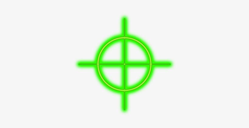 Png Crosshairs Green - Roblox Shift Lock Cursor, transparent png #1189033