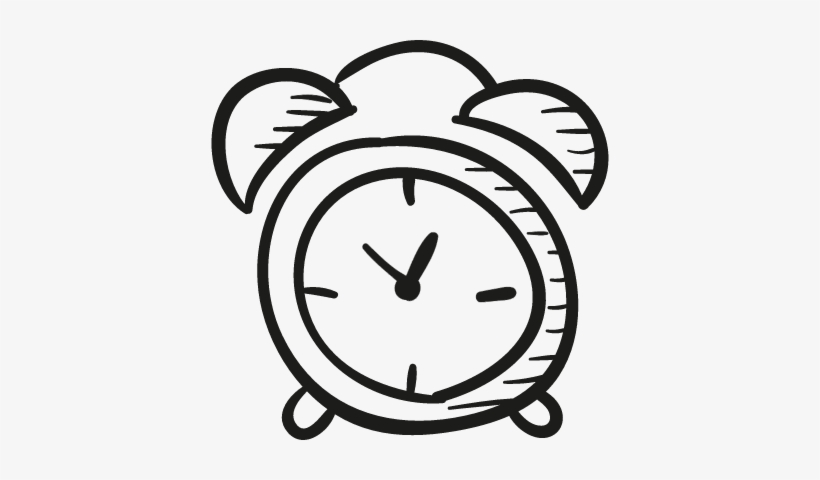 Home Security Alarm Clock Drawing