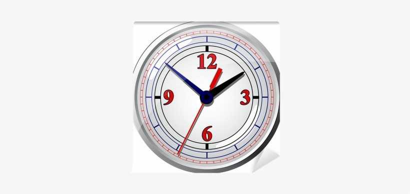 Vector Illustration - Wall Clock, transparent png #1190015