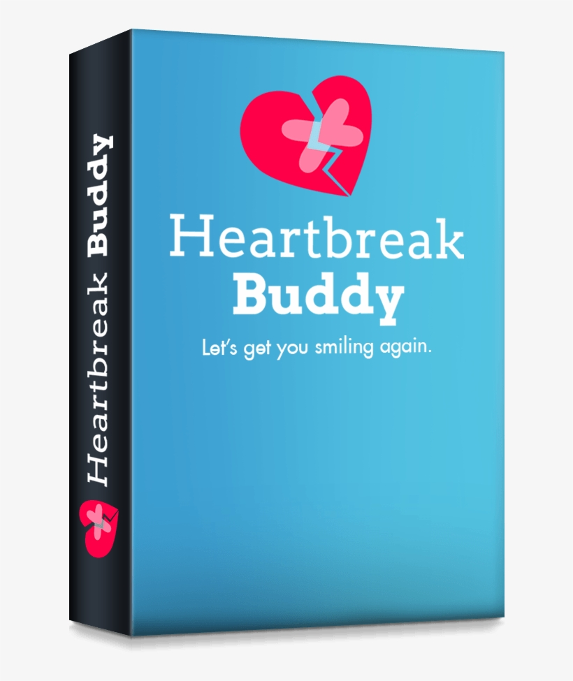 Heartbreak Buddy Is A 30-day Email Course Based Off - Book Cover, transparent png #1190924