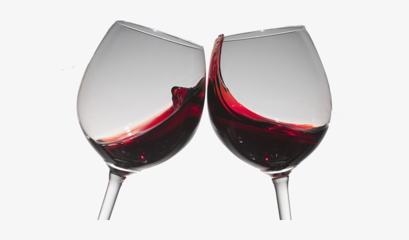 Chalk Wine Glass Png - Red Wine Glass Cheers, transparent png #1191301