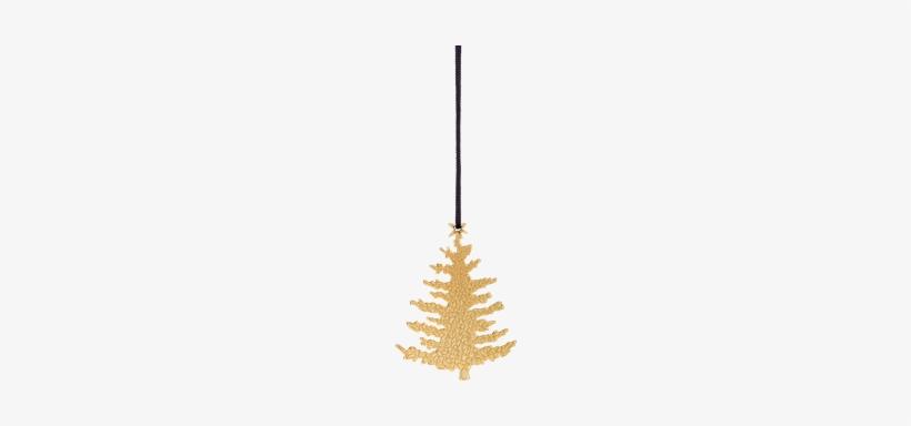 Karen Blixen Christmas Tree - Ornament Christmas Tree H7cm, Goldplated, transparent png #1193069