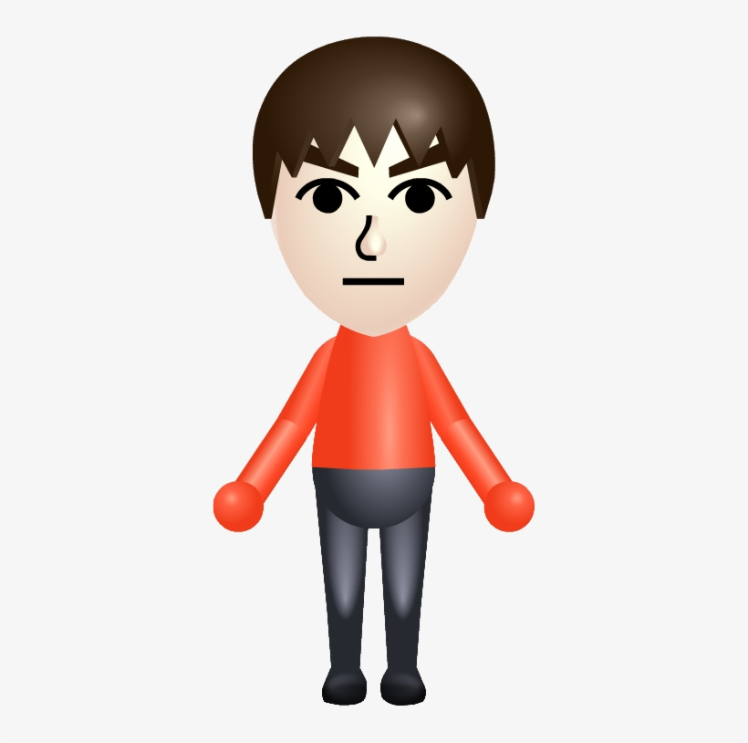 This Is How Playable Miis Would Work To Satisfy Most - Amiibo Mii Brawler [nintendo Wii U], transparent png #1194031
