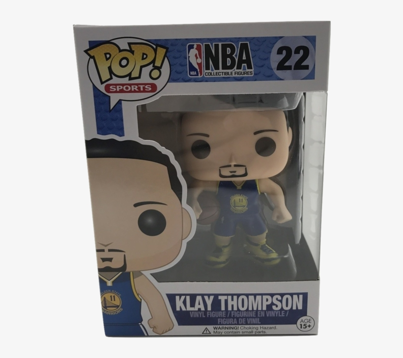 Klay Thompson - Funko Pop! Nba Stephen Curry #19 (golden State Warriors), transparent png #1195621