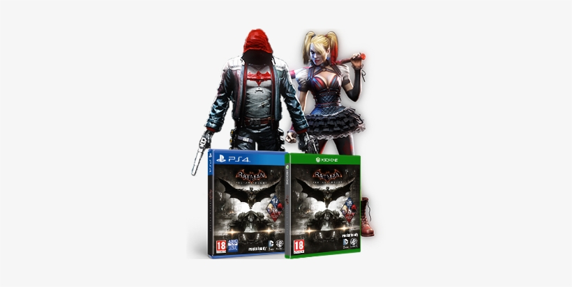 Arkham Knight Red Hood Edition - Wb Games Batman: Arkham Knig Ps4 Video Game, transparent png #1195758