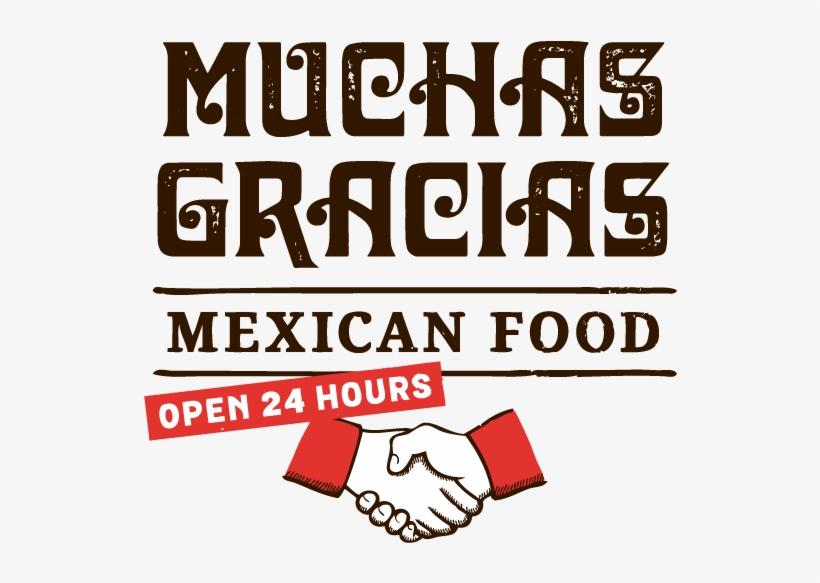 Muchas Gracias Mexican Restaurant - Mexican Restaurant Font, transparent png #1196434