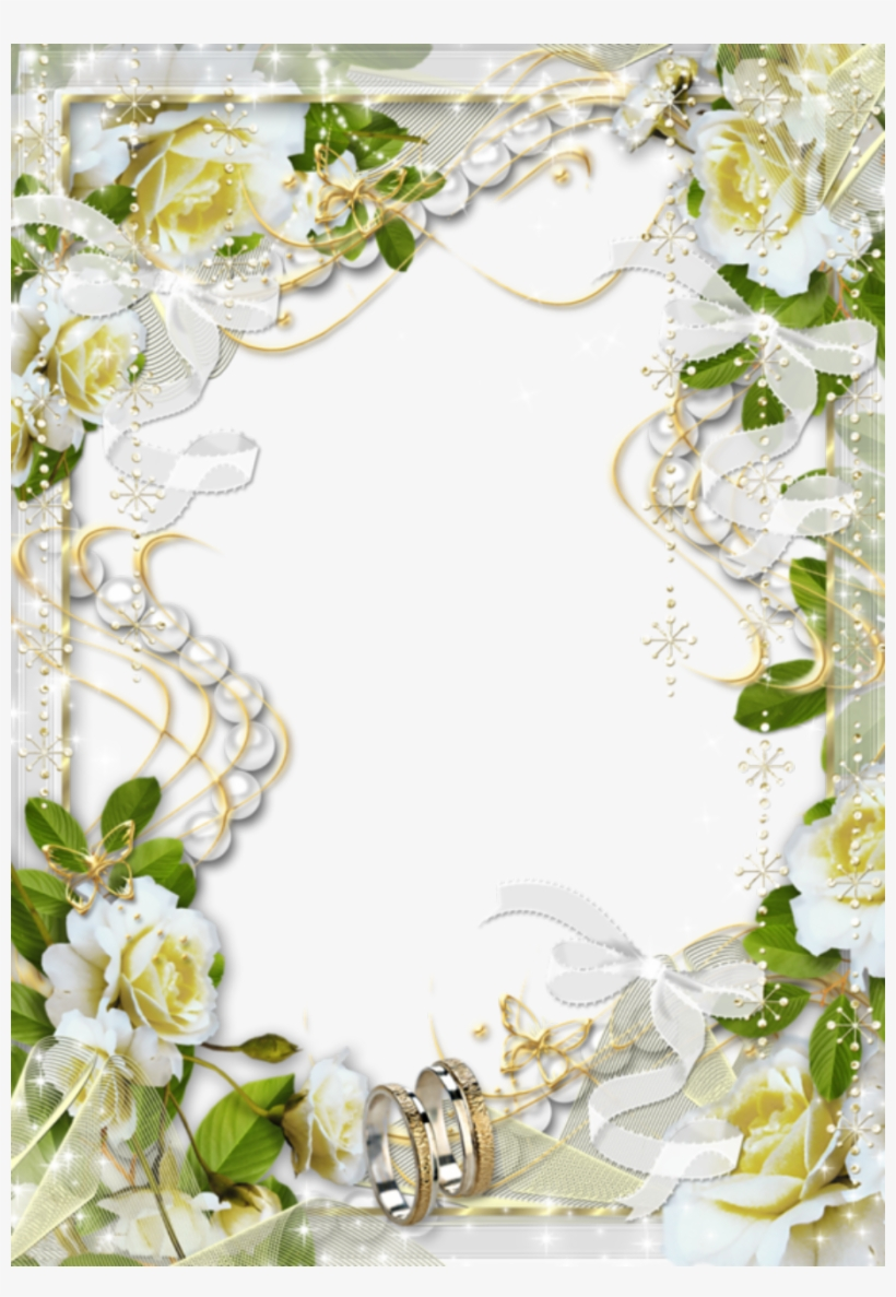 Dreamy Wedding Picture Frame Wedding Photo Frame Png Free Transparent Png Download Pngkey