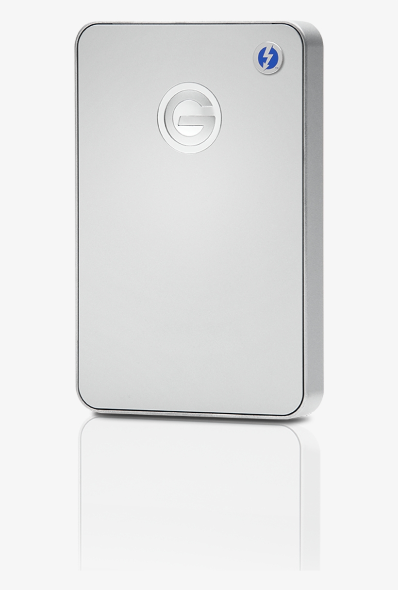 G-drive Mobile With Thunderbolt - G-technology G-drive Mobile Thunderbolt, transparent png #1198017
