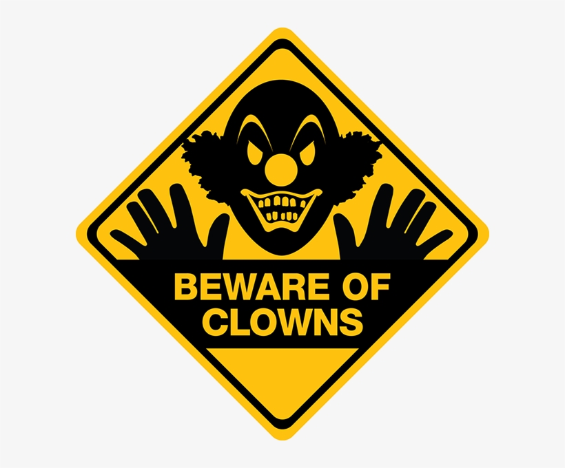 Scary Road Sign Png, transparent png #1199300