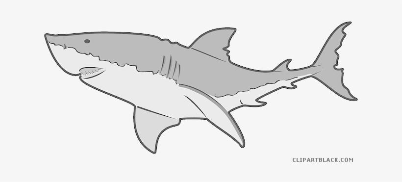 Clip Art Royalty Free Download Grey Shark Clipartblack - Animal Clip Art Shark, transparent png #1199979