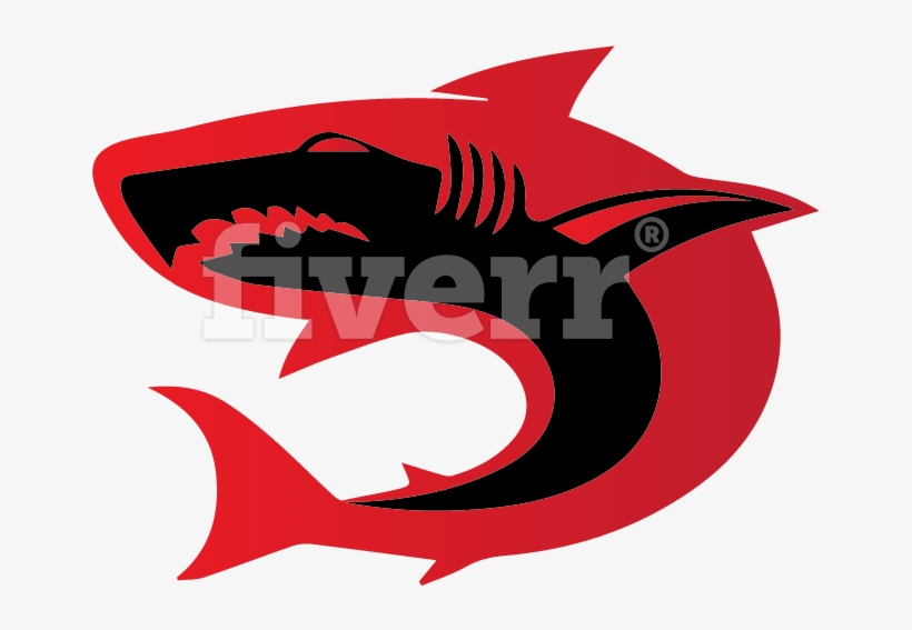 Design 3d 4 Unique Logo With Free Source File And Unlimited - Great White Shark, transparent png #1199997