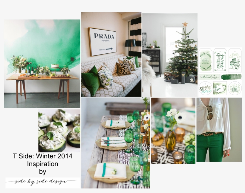 This Board Features An At Home Gathering Perfect For - Christmas Tree, transparent png #120782