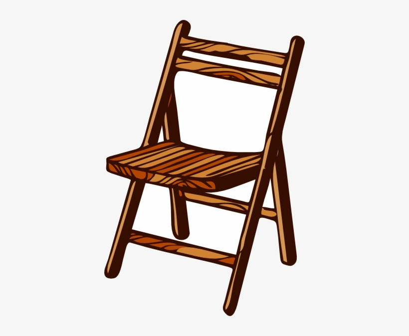Clip Art Free Library Drawing Wood Wooden Furniture - Wooden Chair Clipart, transparent png #120934