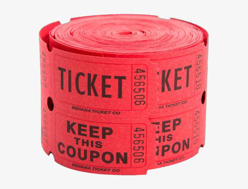 Share This Image - Double Tickets 500 Tickets/roll-assorted, transparent png #120977