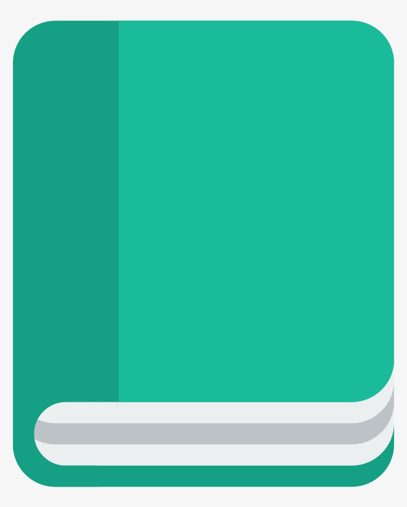 Book Icon - Book Flat Icon Png, transparent png #122439