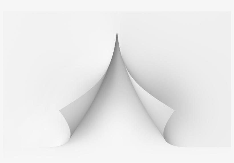 Transparent Png Cutting Paper - Scissor Cut Paper Png, transparent png #124007