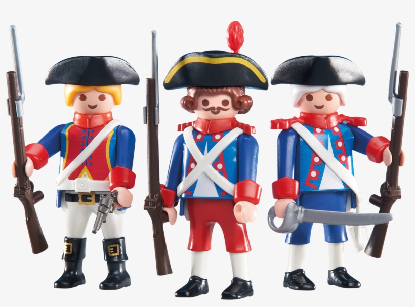 Drawn Soldier Transparent - Playmobil French Soldiers, transparent png #124097